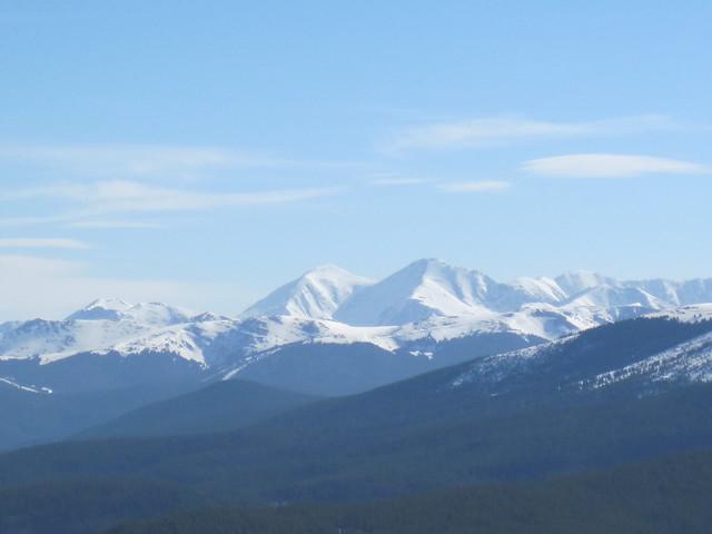 Picture from Quandary Peak, Colorado