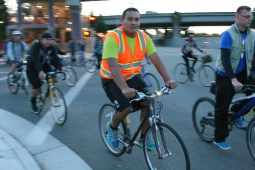 San Jose Bike Party Safety Ride May 2013