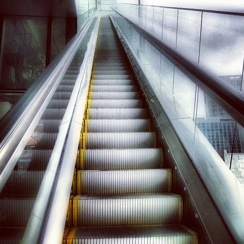 Long way up at Orchard Central #singapore by @MySoDotCom