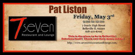 Pat Liston 5-3-13