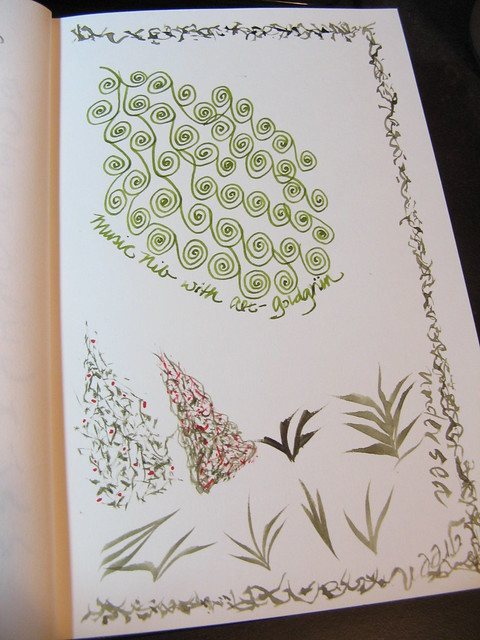 Green in My Journal