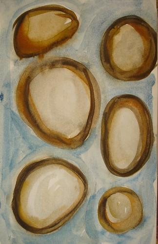 Brown stones sketch