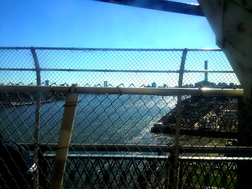 view from the B train