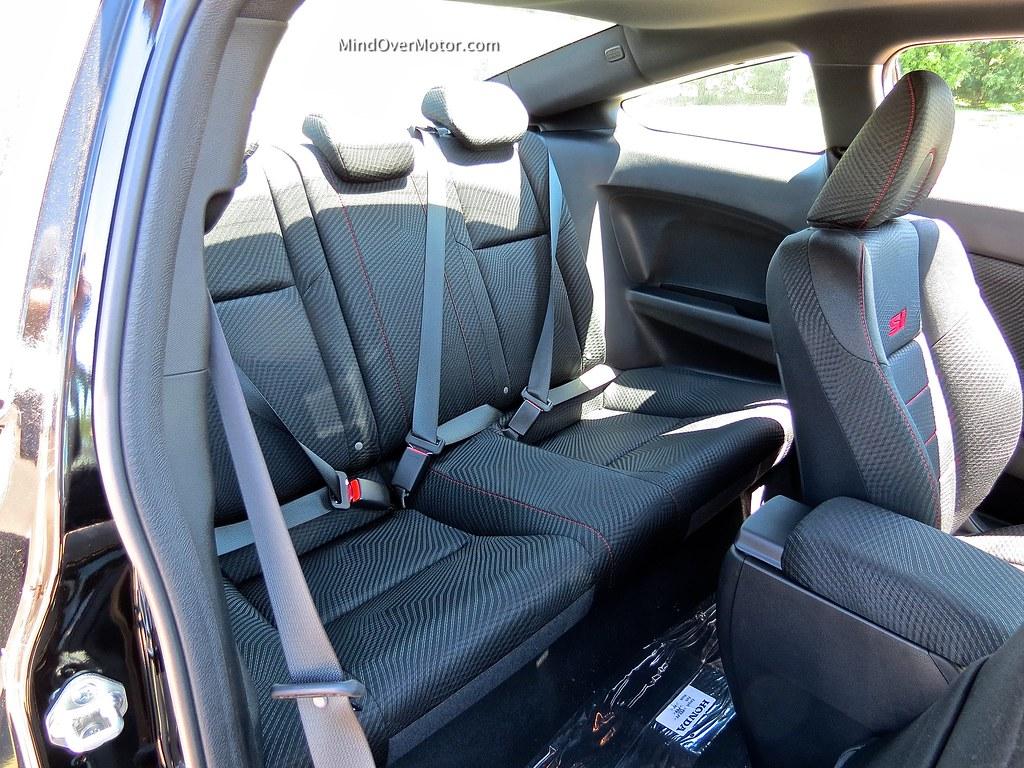 2013 Honda Civic Si Coupe Back Seat