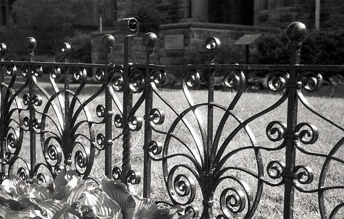 Black Iron Fence 1