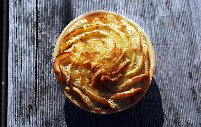 Potato topped pie