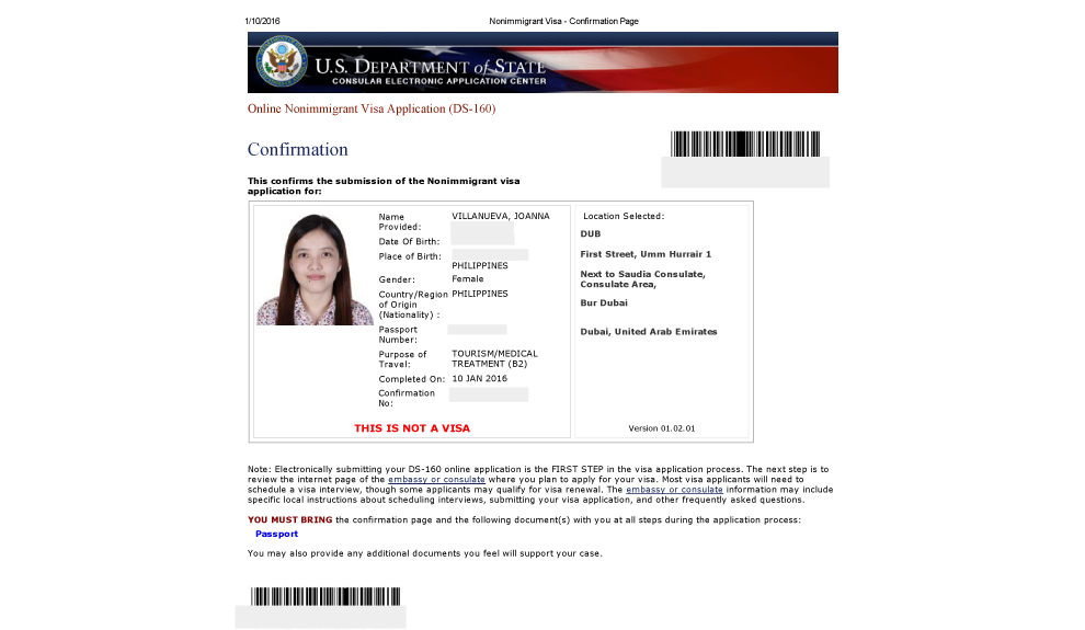 How To Apply A US Visa For Filipinos From Dubai The Moment - Us consulate dubai map