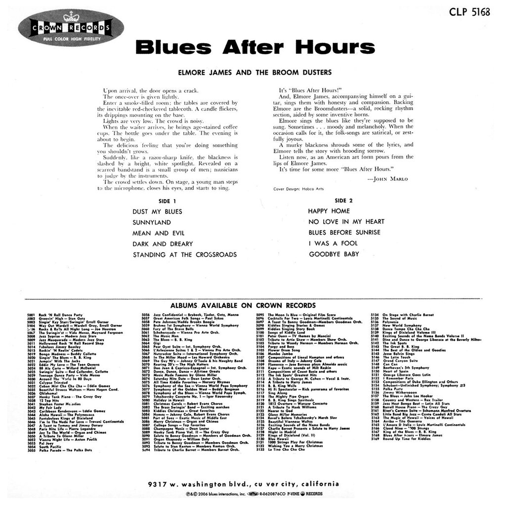 Elmore James - Blues After Hours