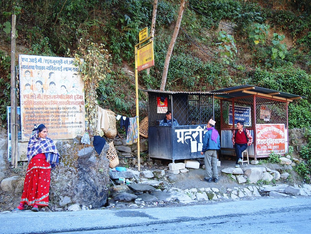nepal day 1 hike
