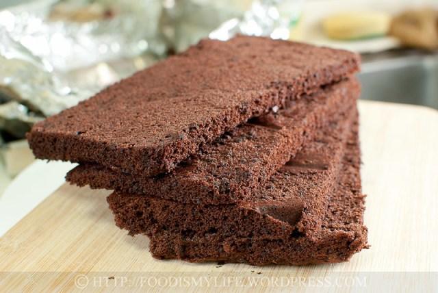 Chocolate Genoise Sponge Uk