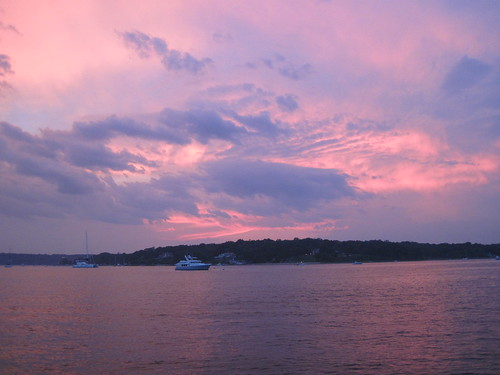 Another beautiful sunset in Oyster Bay