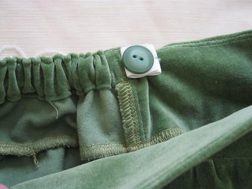 Oliver + S Badminton skirt - adjustable waist detail