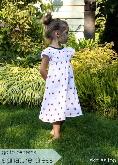 signature apple dress