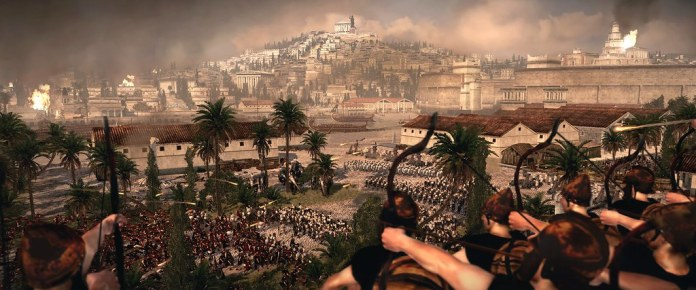 Rome II - Battle of Carthage - East breakthrough