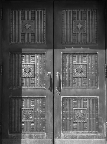 Courthouse door