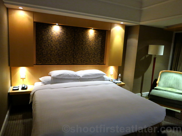 Grand Hyatt Taipei- bedroom