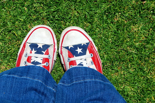 7 Days: Day 6 (Breaking Out the Stars and Stripes)
