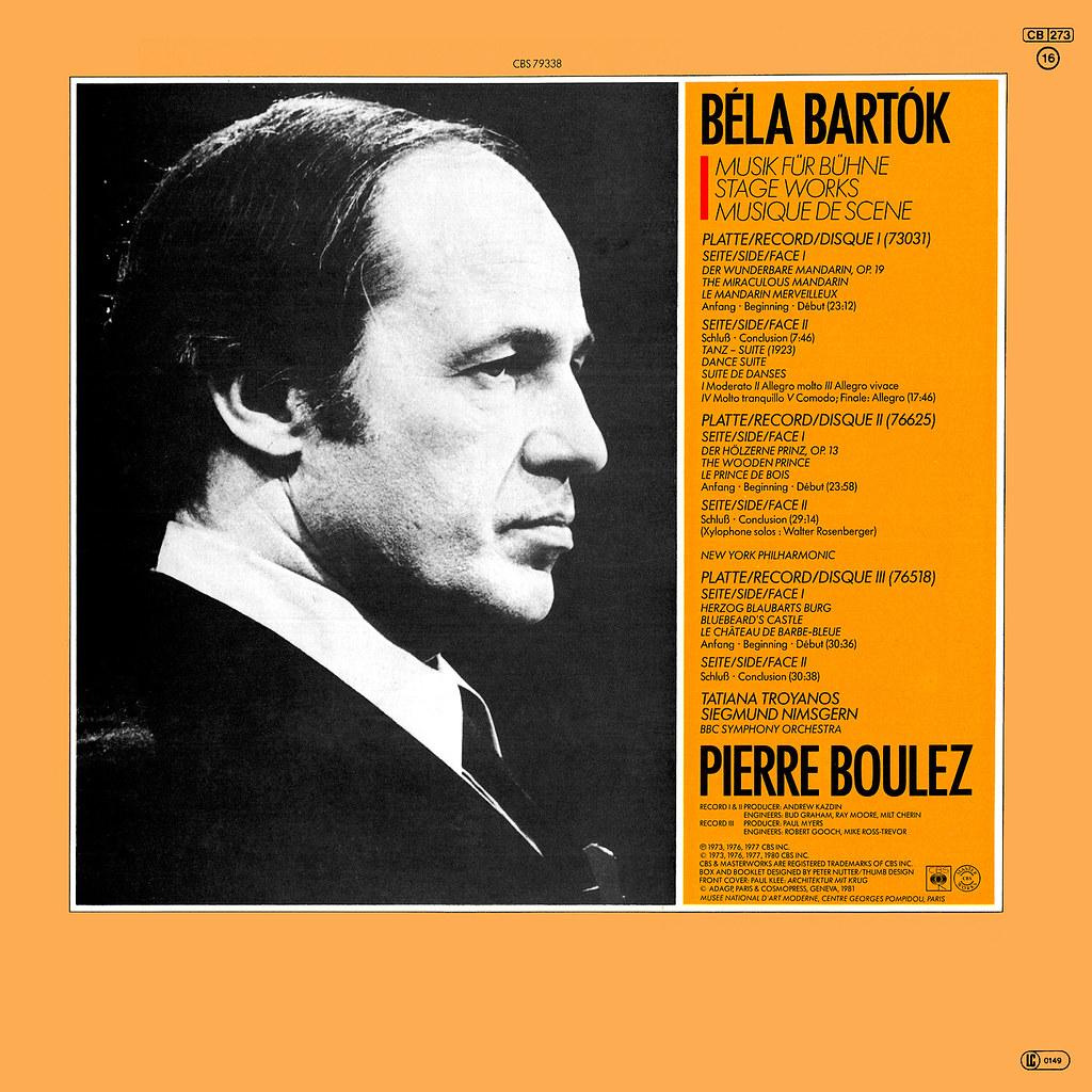 Bela Bartok - Stage Works