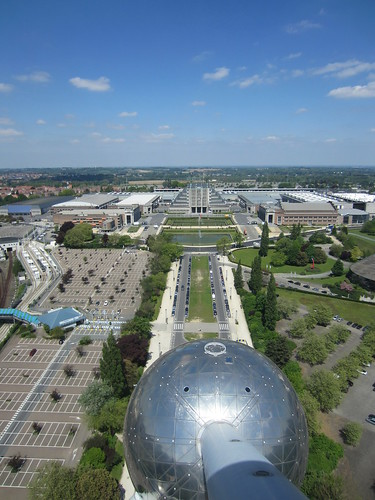 from the atomium
