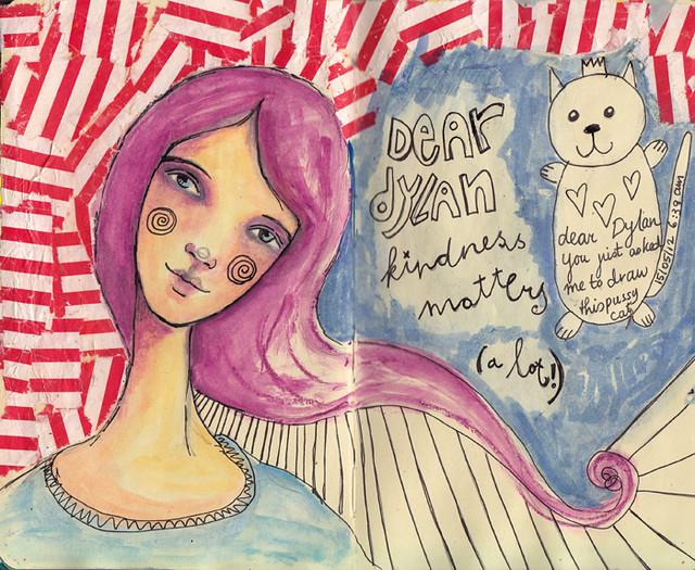 Dylan & Elliot Art Journal - p8