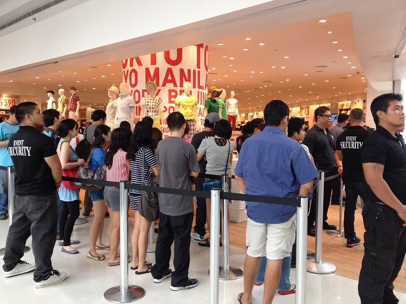 Uniqlo at Mall of Asia: An Event Mini-Report