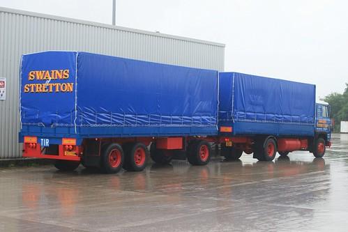 Swains of Stretton Scania 141 Drawbar