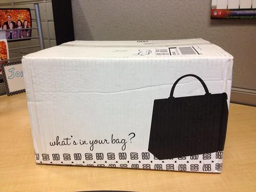 Little Black Bag delivery!