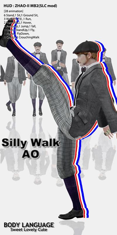 Silly Walk AO set