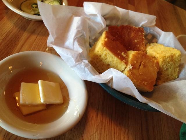 Basket of corn bread - Jestine's Kitchen