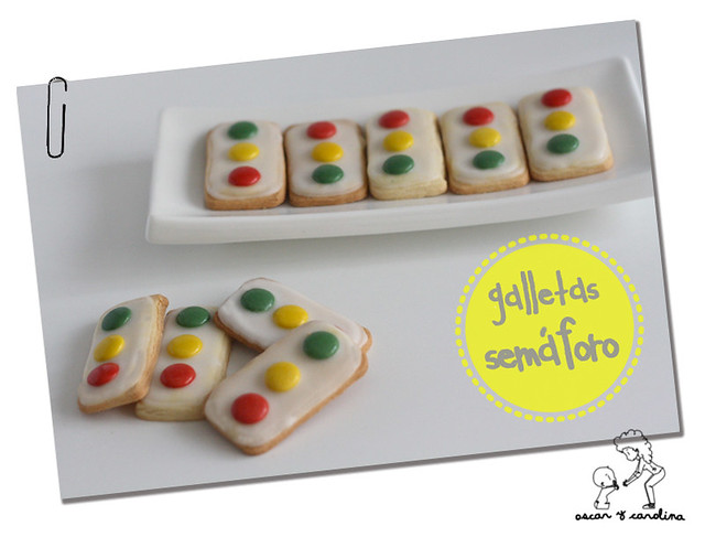 galletas semaforo traffic light cookies