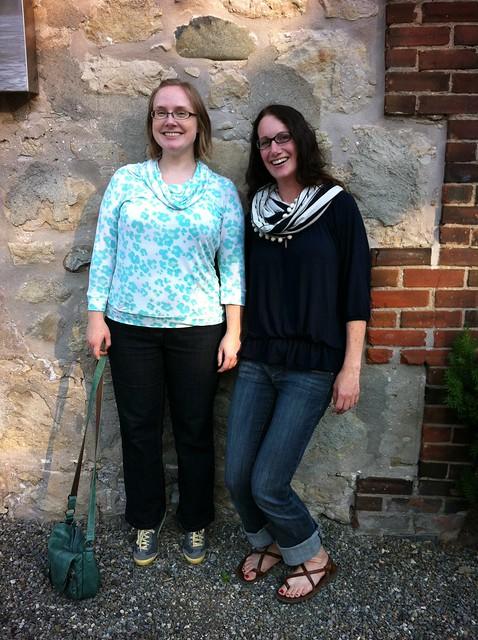 Jenn and I short