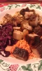 pork belly on rice