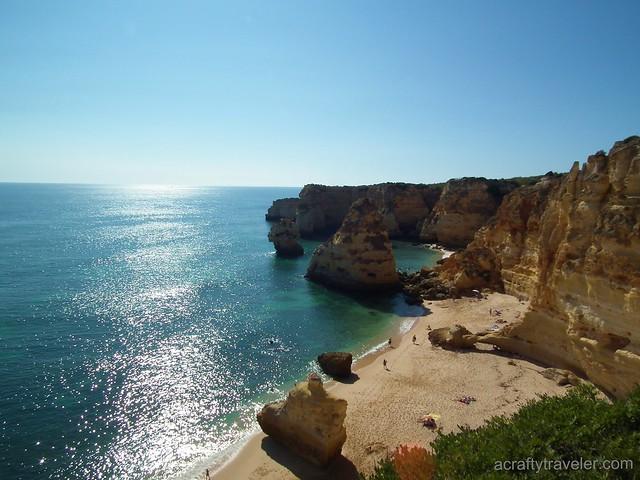 Praia de Marinha-Algarve, Portugal