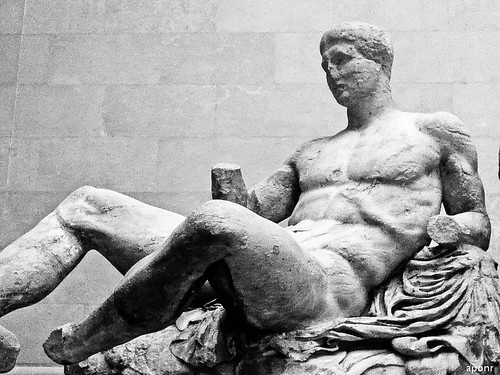 Figure of Dionysusfrom the east pediment of the Parthenon