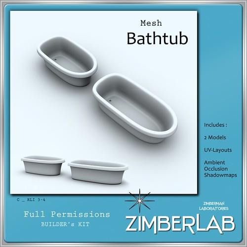 ZimberLab Tub C@ The Deck