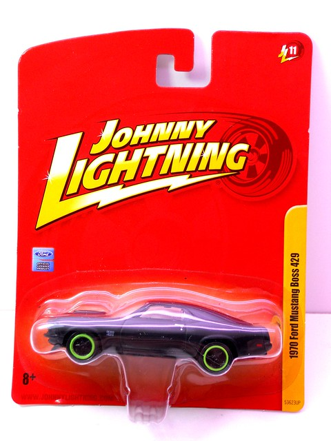 johnny lightning 1970 ford mustang boss 429 blk (1)