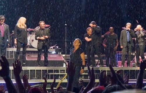 Bruce y la lluvia en San Sebastián