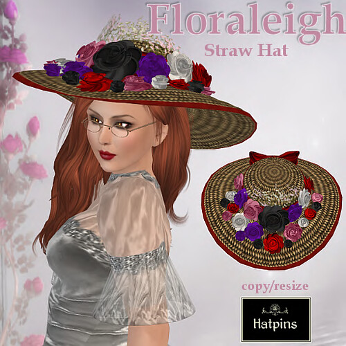 Floraleigh Hat - Playful Bouquet