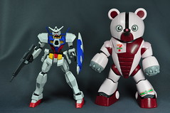HG 144 7-Eleven BearGuy Gundam OOTB Unboxing Review (60)