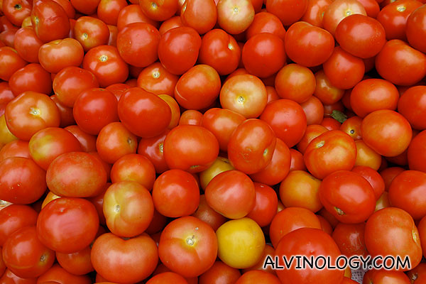 Sunny tomatoes