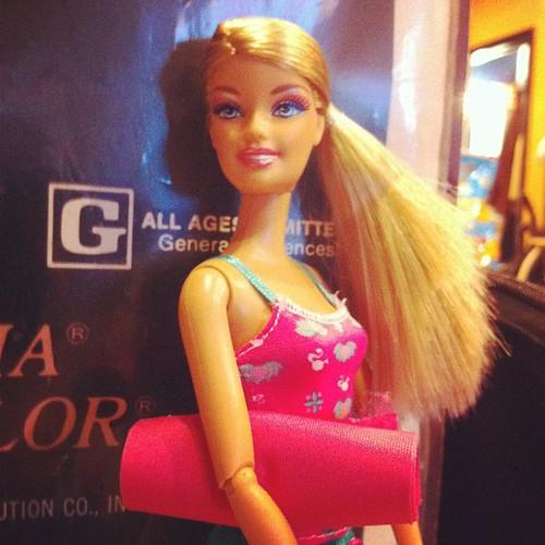 Yoga Teacher Barbie