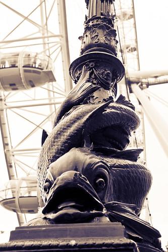 Lamp Post, South Shore, London