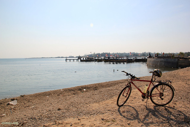 My Bicycle on The Beach