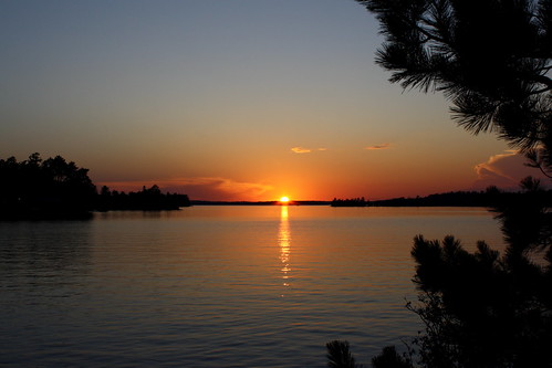Sunset, Lake Vermilion