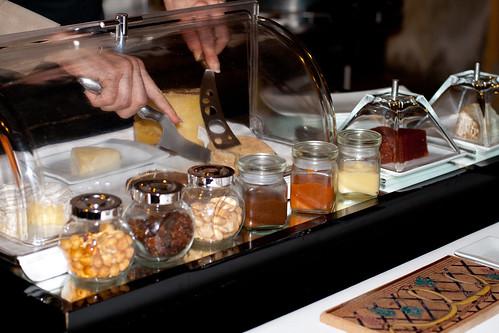Carro de quesos del restaurante Nuevo Molino, Santander