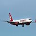 B-737 de Airberlin tomando tierra en Ibiza