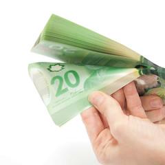 Separating bank notes / Séparation des billets