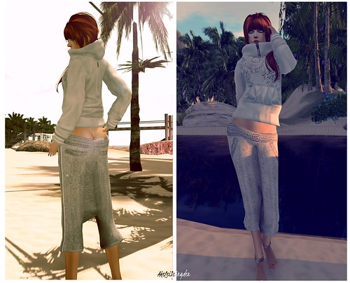 Gizza - Mesh Hoodie and Pants