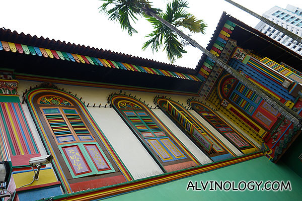The colourful and iconic Residence of Tan Teng Niah