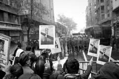 Funa a Homenaje de Pinochet 10/06/2012  - Publicación en medio Italiano en la descripción de la foto -